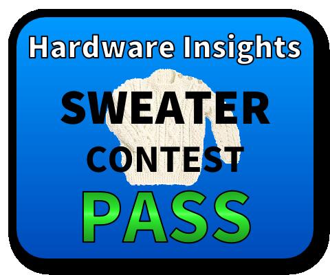 Sweater Contest Pass