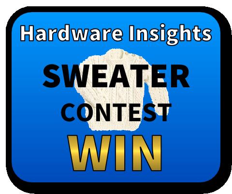 Sweater Contest Win